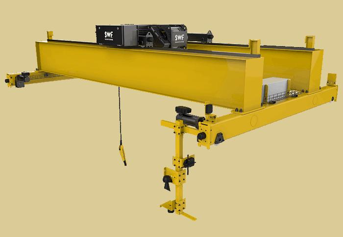 Các loại cầu trục phổ biến hiện nay và thiết bị đi kèm